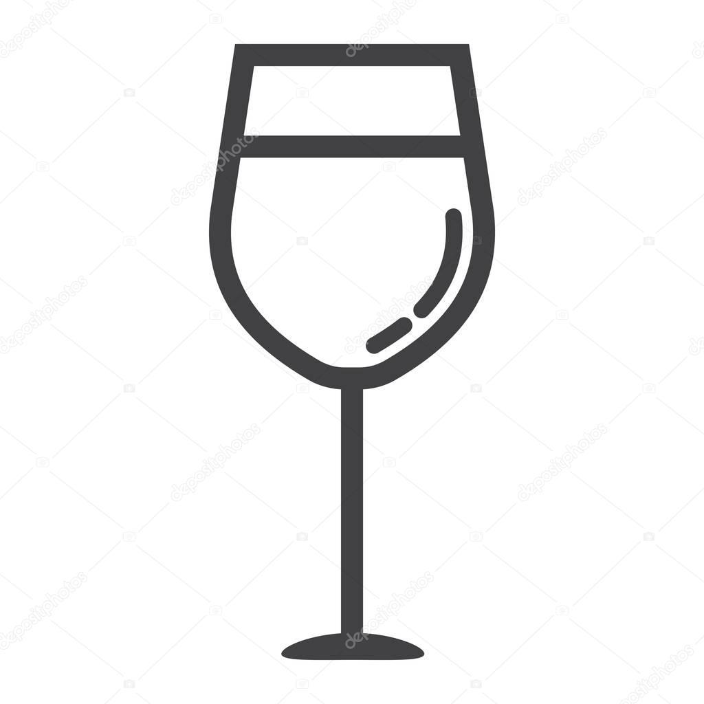 Wein Und Glas Essen : liniensymbol glas wein essen und trinken alkohol zeichen stockvektor amin268 170871314 ~ A.2002-acura-tl-radio.info Haus und Dekorationen