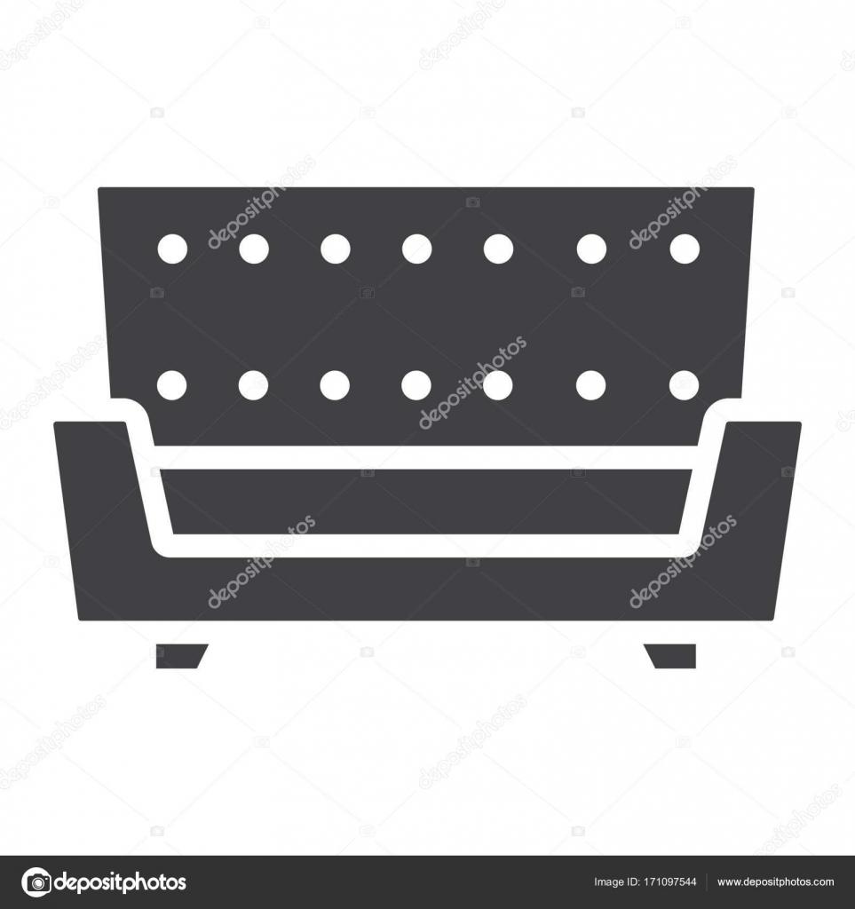 Icono S Lido Sof Y Muebles De Interior Vector De Stock  # Muebles Deinterior
