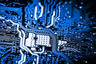 Abstract,close up of Mainboard Electronic computer background.(logic board,cpu motherboard,Main board,system board,mobo)
