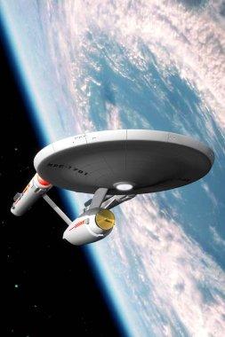 Starship Enteprise Constitution class