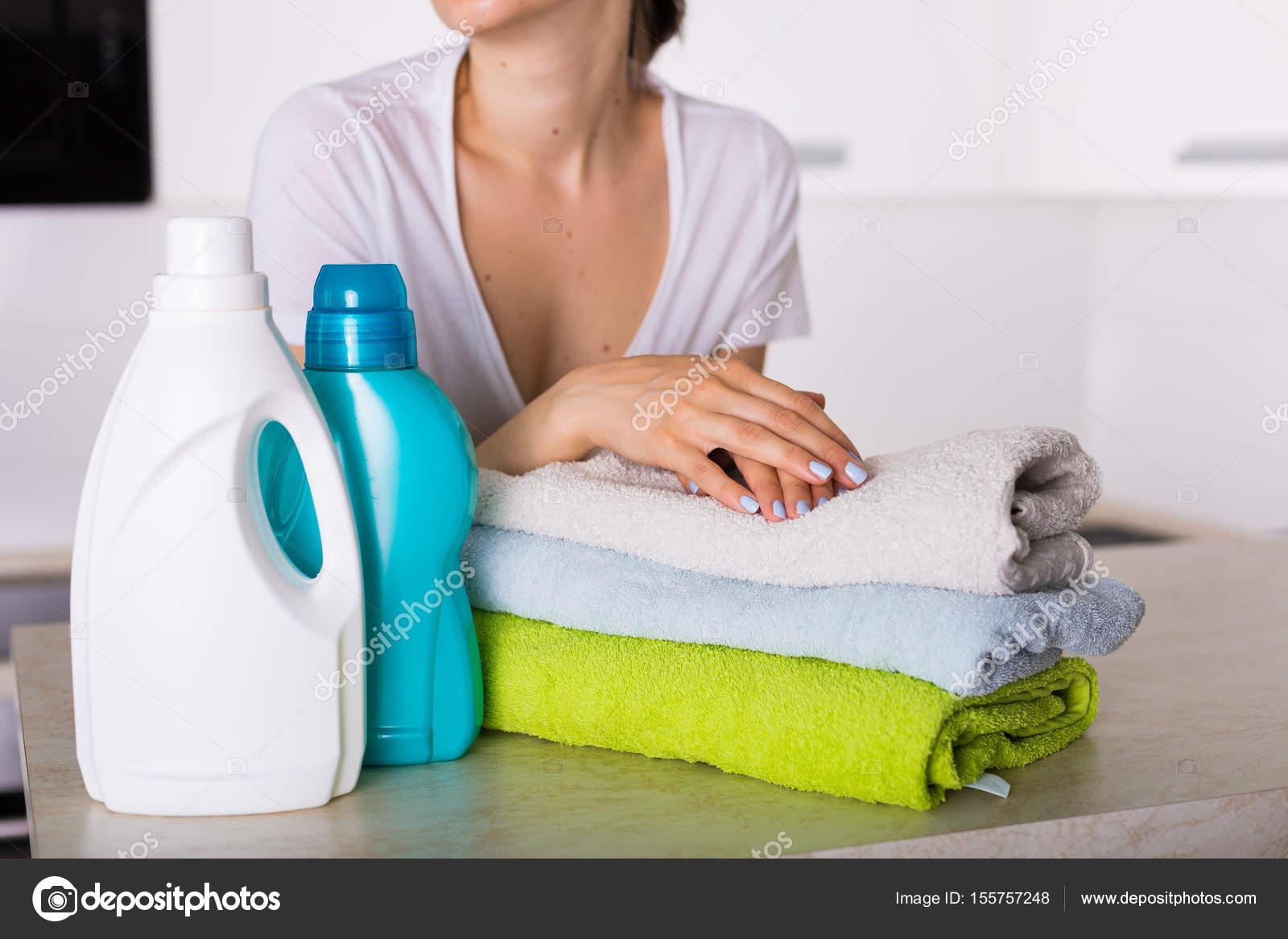 Servizio lavanderia lavato u foto stock tinatin