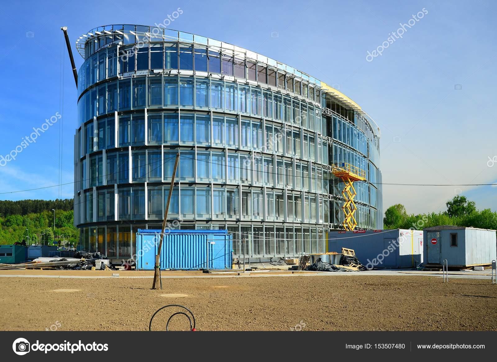 Het Nieuwe Kantoor : Bouw van het nieuwe kantoor in vilnius stad u redactionele