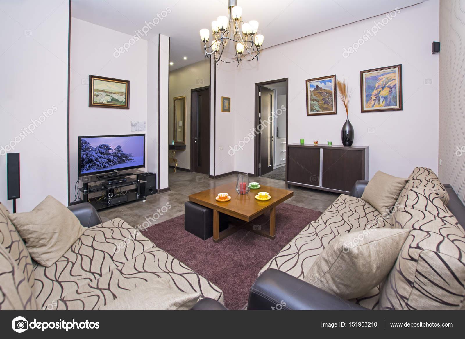 Yerevan Armenia April 11 2017 A Modern Apartment Living Room Luxury Apartment With Stylish Modern Interior Design Stock Editorial Photo C Artavet 151963210