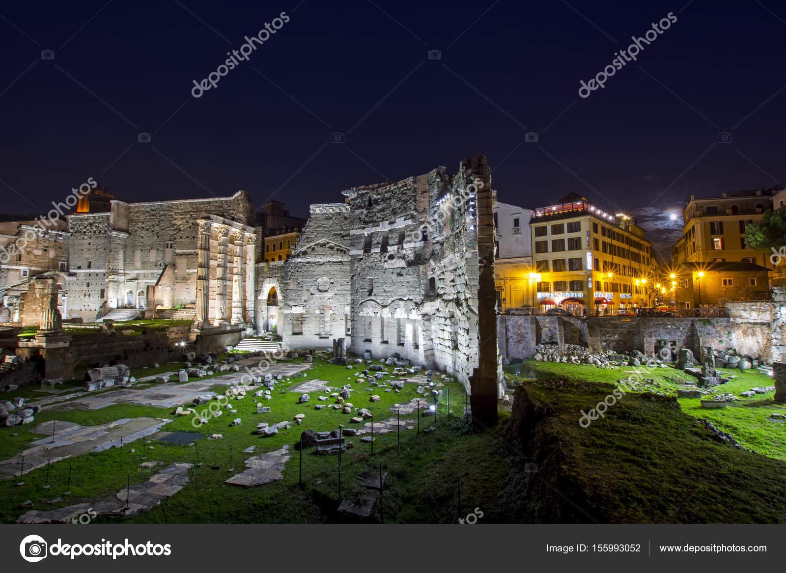 Rom Italien 16 November 2016 Forum Des Augustus Und Forum