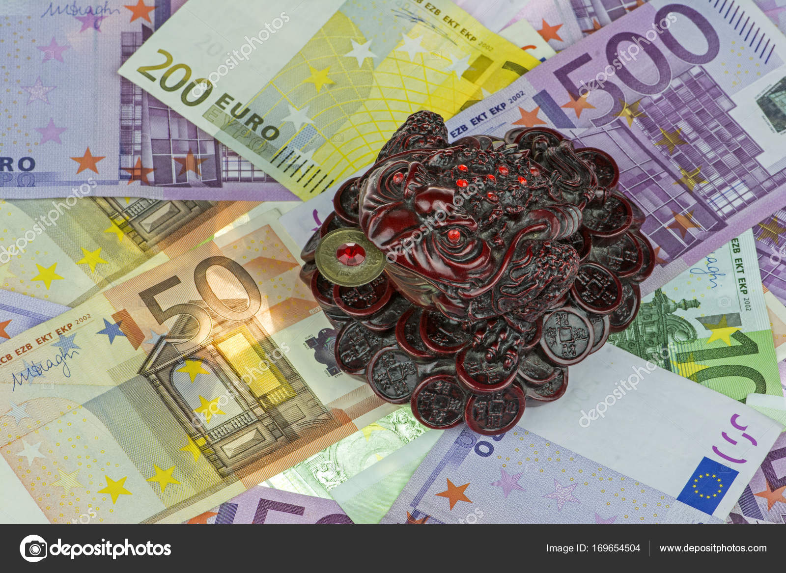 Three Legged Money Toad Jin Chan As A Chinese Symbol Of Wealth On