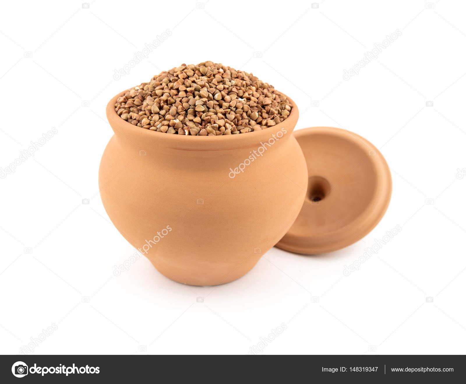Buckwheat in pots