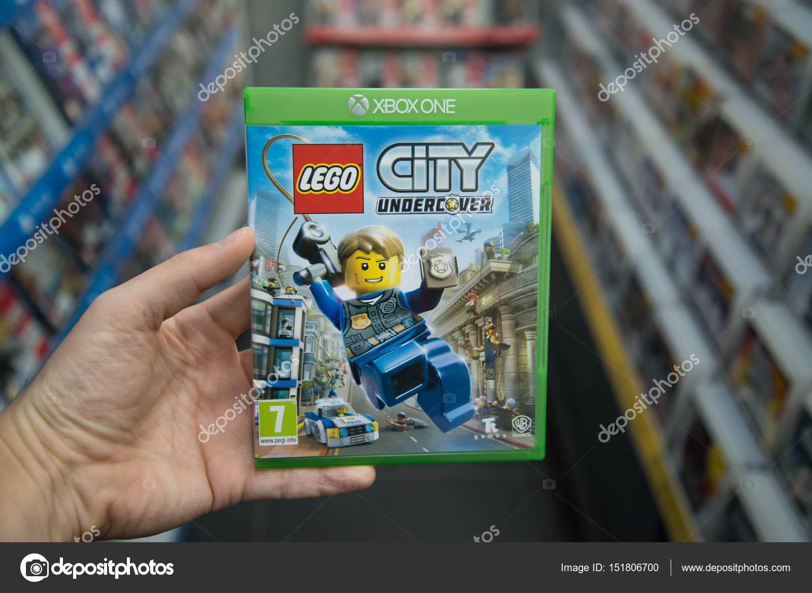 Lego City Undercover Videogame On Microsoft Xbox One Stock