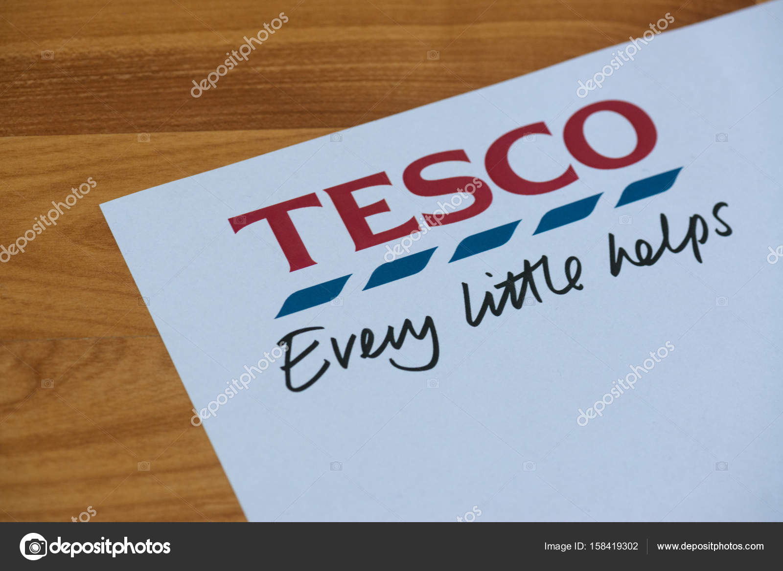 Tesco logo and slogan – Stock Editorial Photo © Pe3check