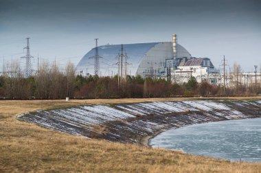 Chernobyl power plant in Pripyat, Ukraine