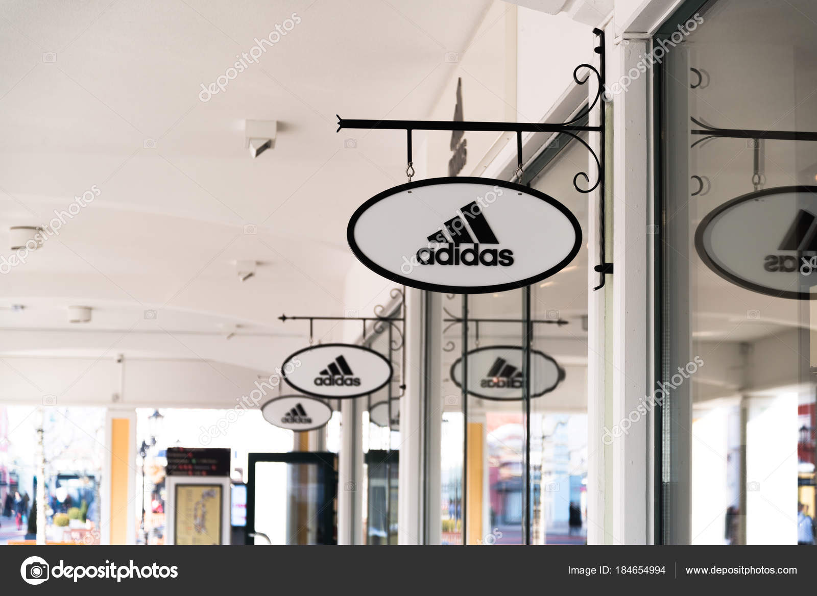 2018 sneakers best loved new york Parndorf Austria February 2018 Adidas Store Parndorf Austria ...