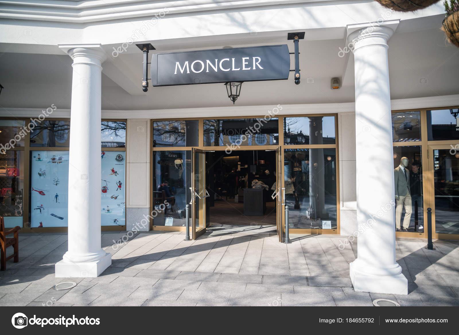 finest selection dac8c 2b2eb Parndorf Austria February 2018 Moncler Store Parndorf ...