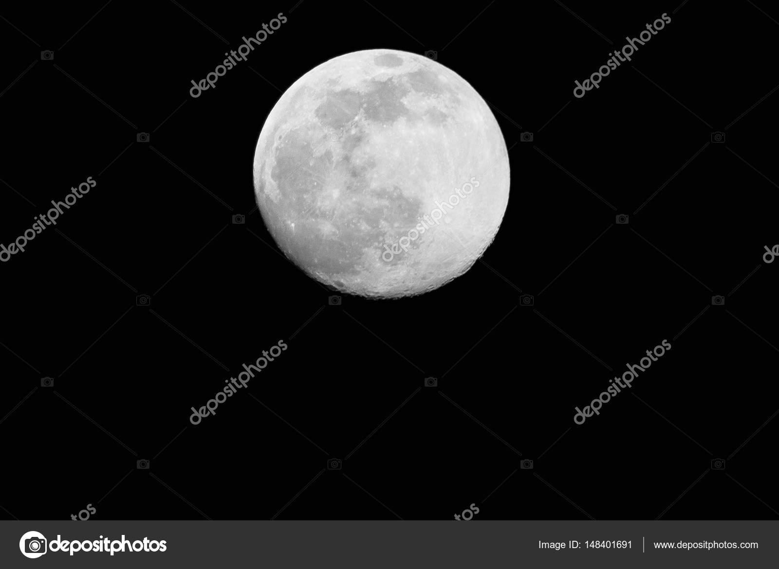 Super Moon On Black Background Stock Photo C Kruchamp1987 148401691