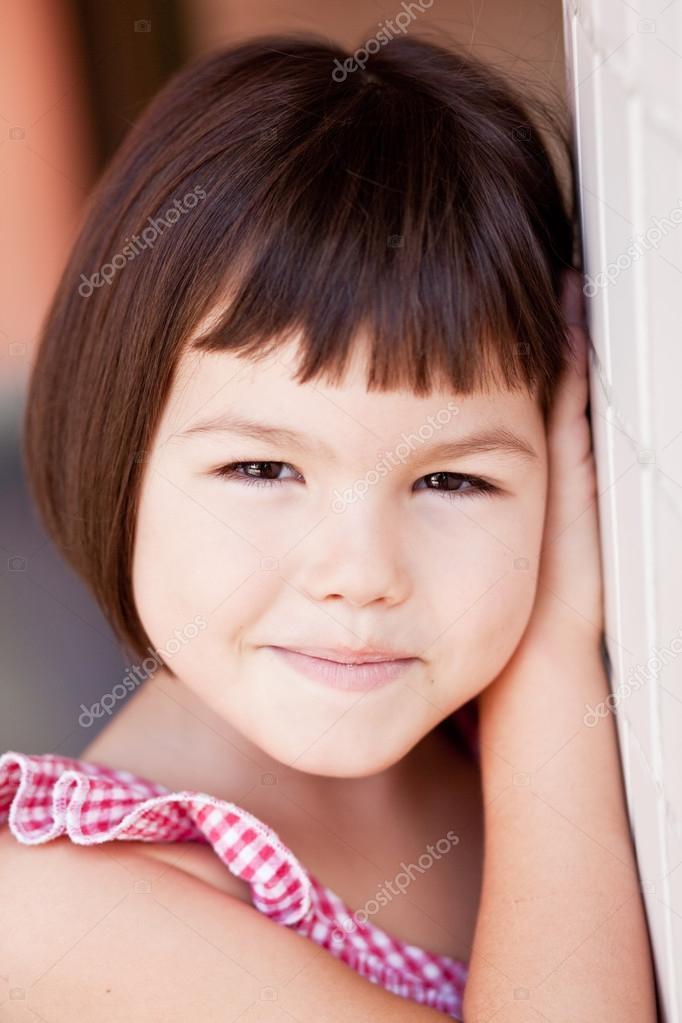 Asian Girl With Short Hair Asian Girl With Short Hair Stock Photo C Radarani 128131898