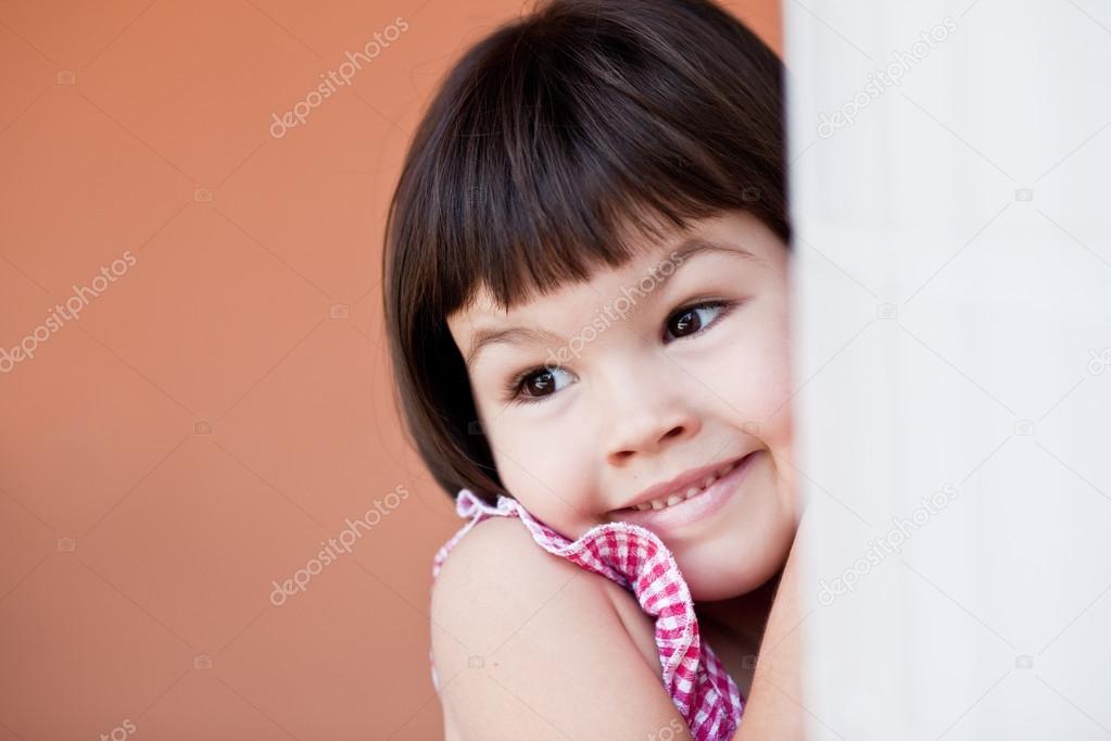 Asian Girl With Short Hair Stock Photo Radarani 128131906