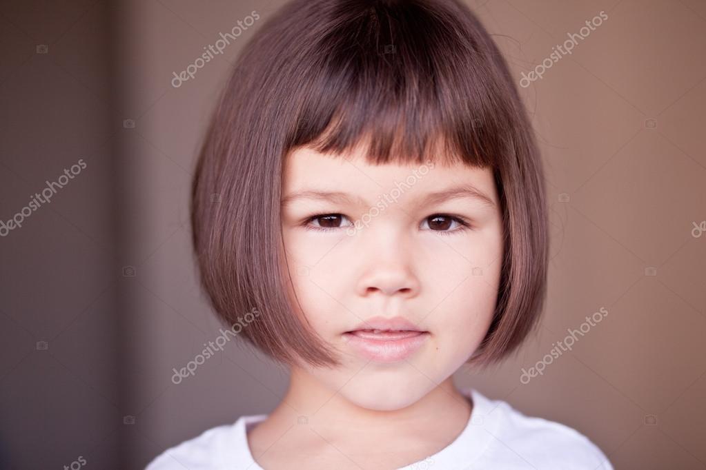 Asian Girl With Short Hair Stock Photo Radarani 128133074