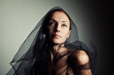 femme fatale portrait