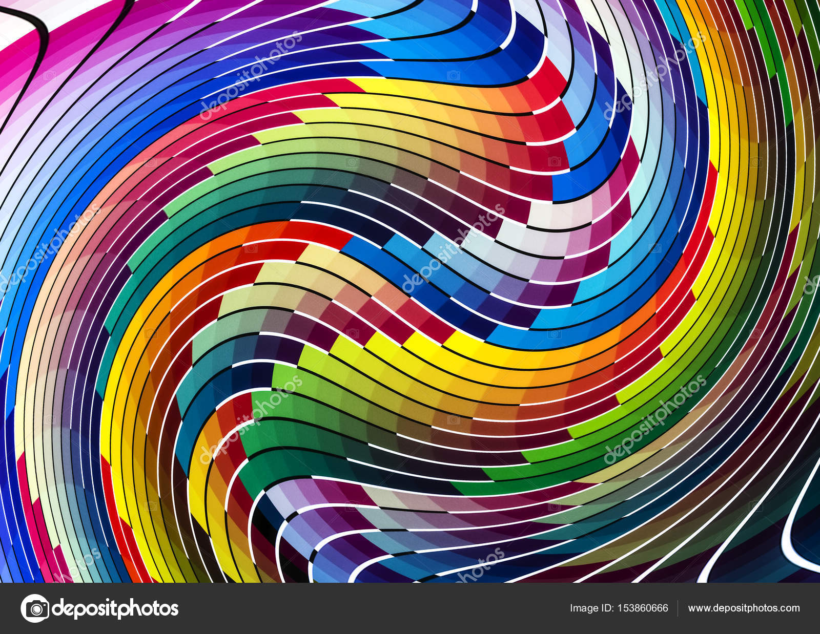 Wave Color Chart Stock Photo C BrothersArt 153860666