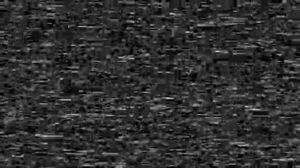Régi Vhs videokazetta Hibajelzés Statikus villogás, Analóg Vintage TV jel