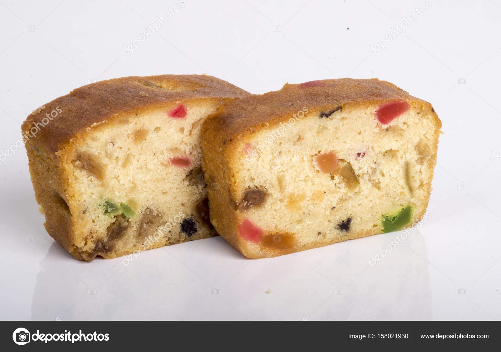 Traditionelle Trockene Scheibe Obst Kuchen Bild Stockfoto