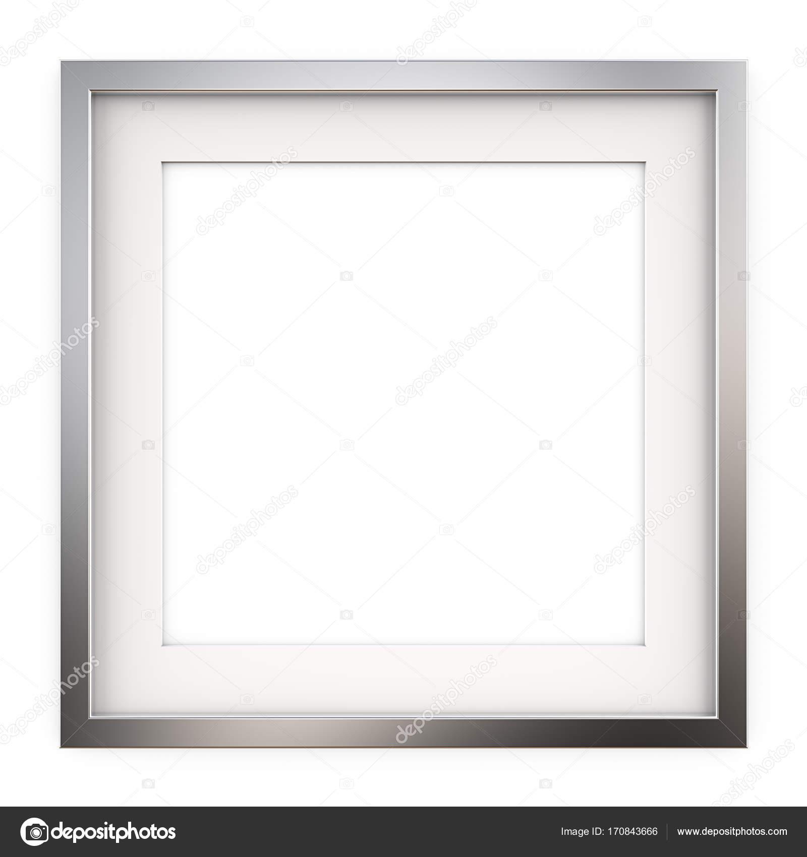 Marco cuadrado de Metal — Foto de stock © JohanH #170843666