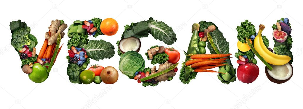 Vegan Food Symbol Stock Photo Lightsource 124837920