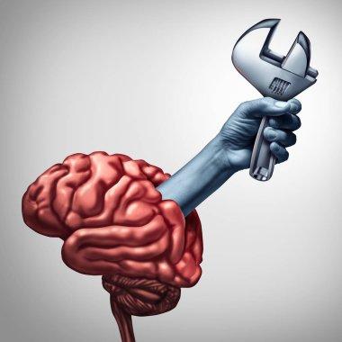 Brain Repair Mental Health Symbol