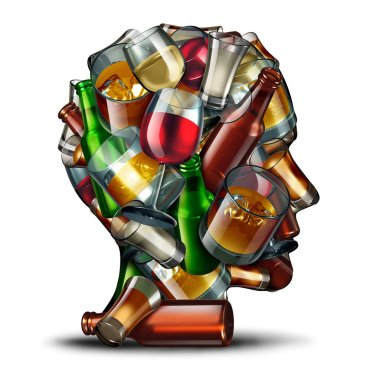 Alcohol Psychology Symbol