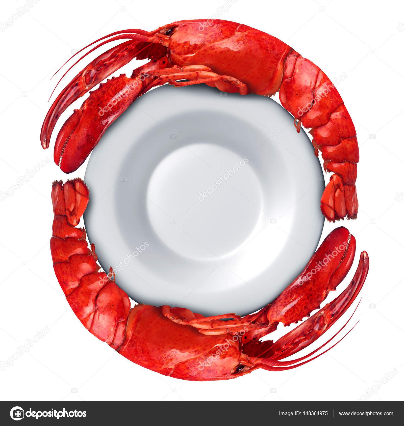 Lobster Dish Symbol Stock Photo Lightsource 148364975