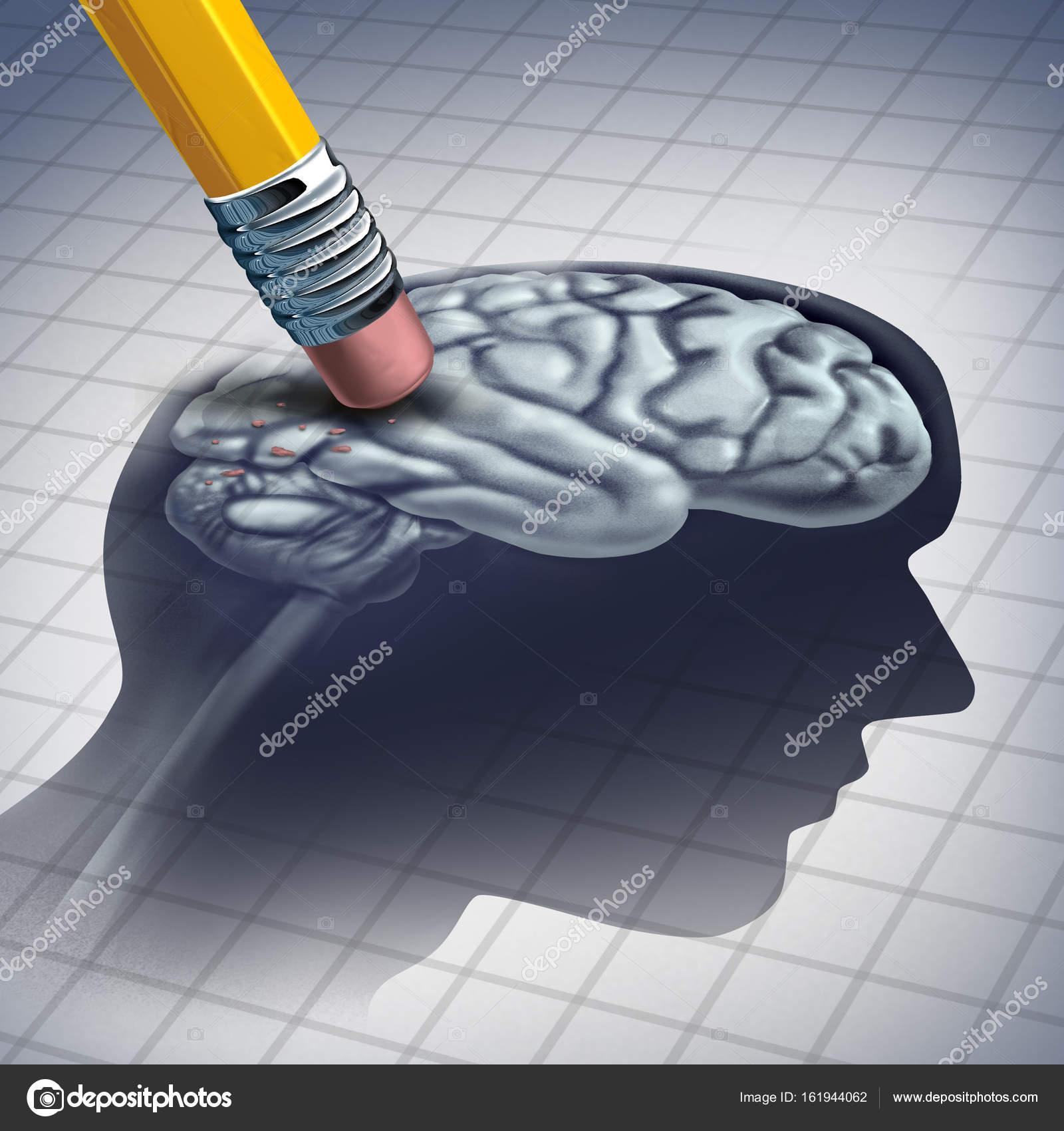Demenz Erkrankung Konzept — Stockfoto © lightsource #161944062