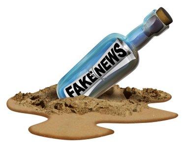 Fake News Communication Symbol