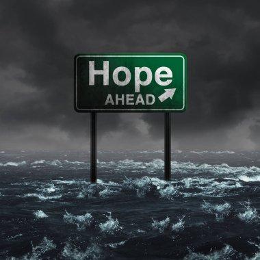 Hope Ahead Inspirational symbol
