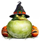 Fotografia Simbolo di Halloween rana