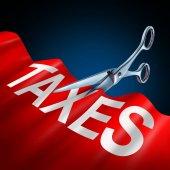 Tax Cuts Symbol