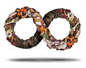 Fotografie Kompostierungssymbol