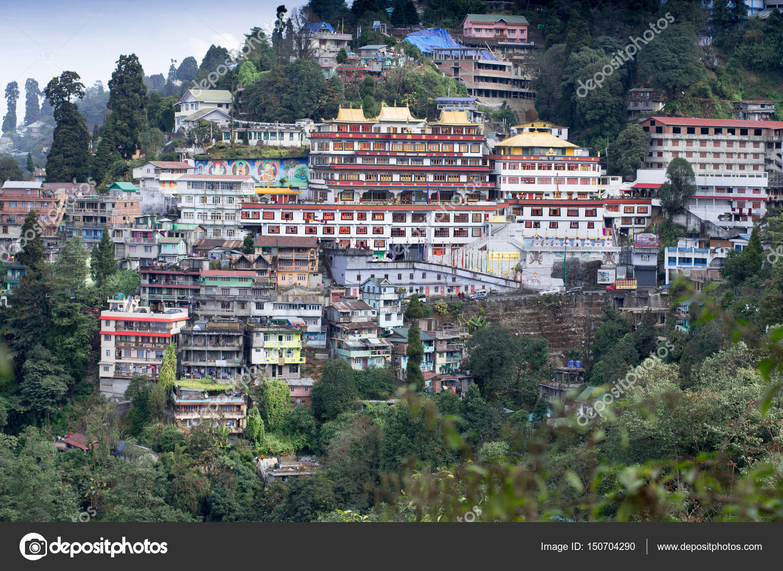 Druk Thupten Sangag Choling Monastery Stock Photo Gnomeandi