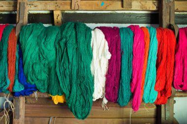 weaving and knitting yarns