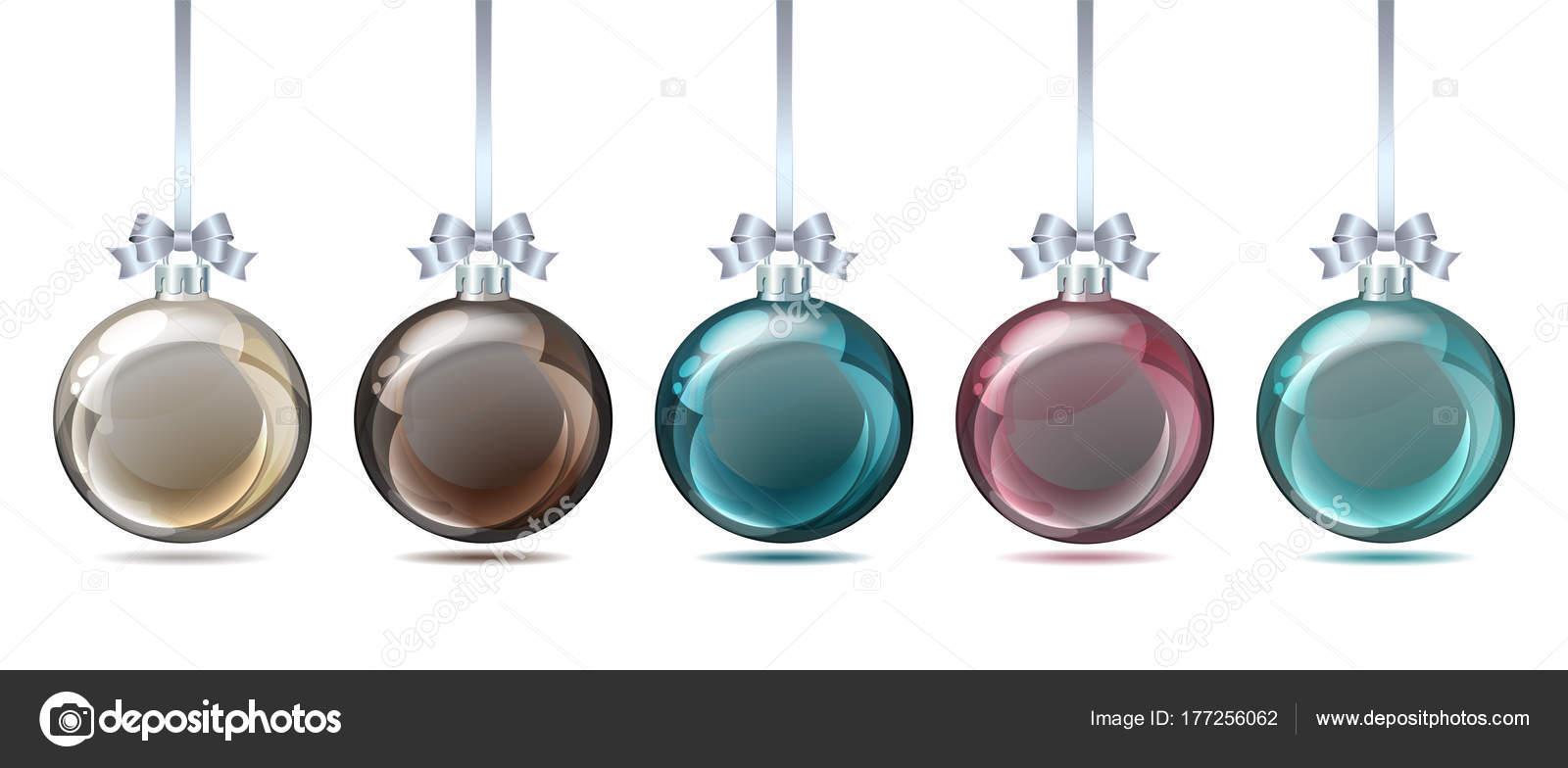 Bolas De Navidad Color Pastel