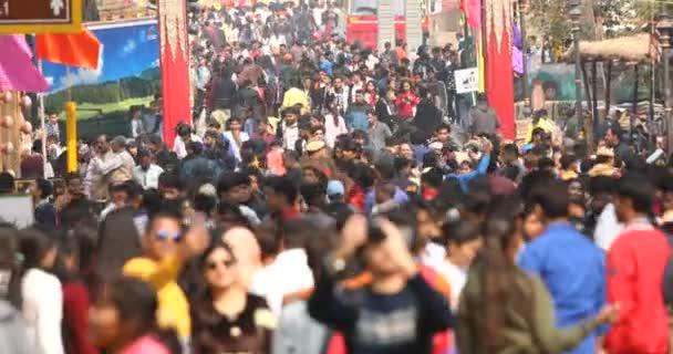 Crowd at Surajkund International Crafts Mela