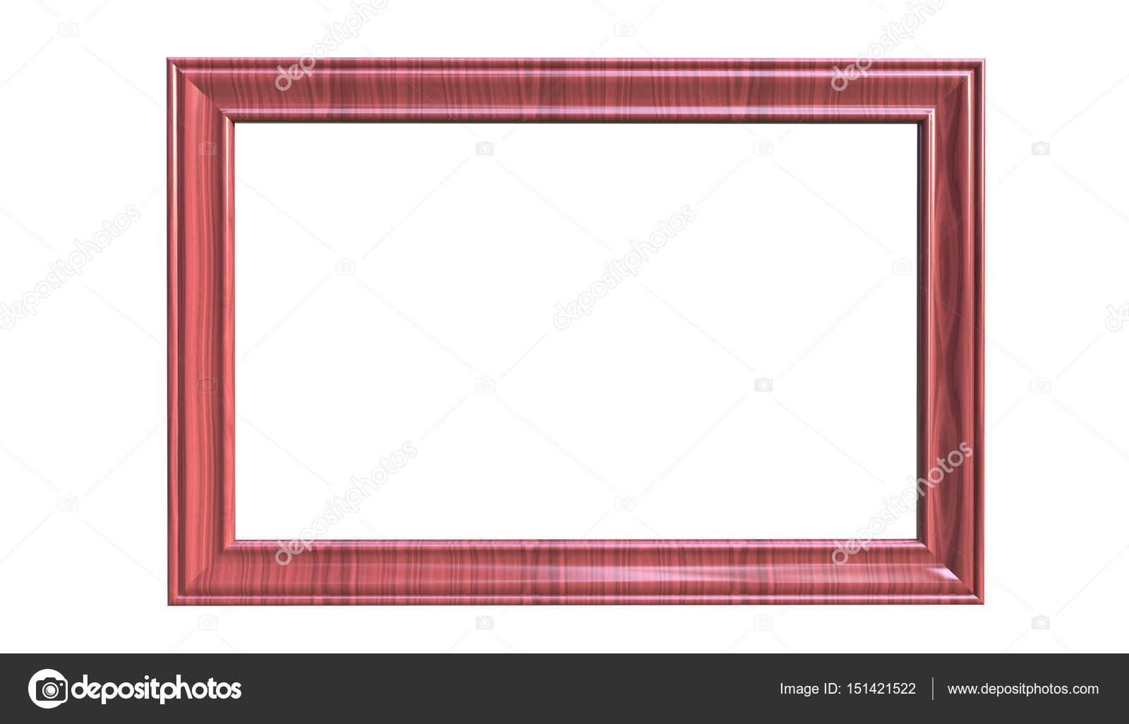 Render 3D de moderno colgante aislado color vino foto marco o ...
