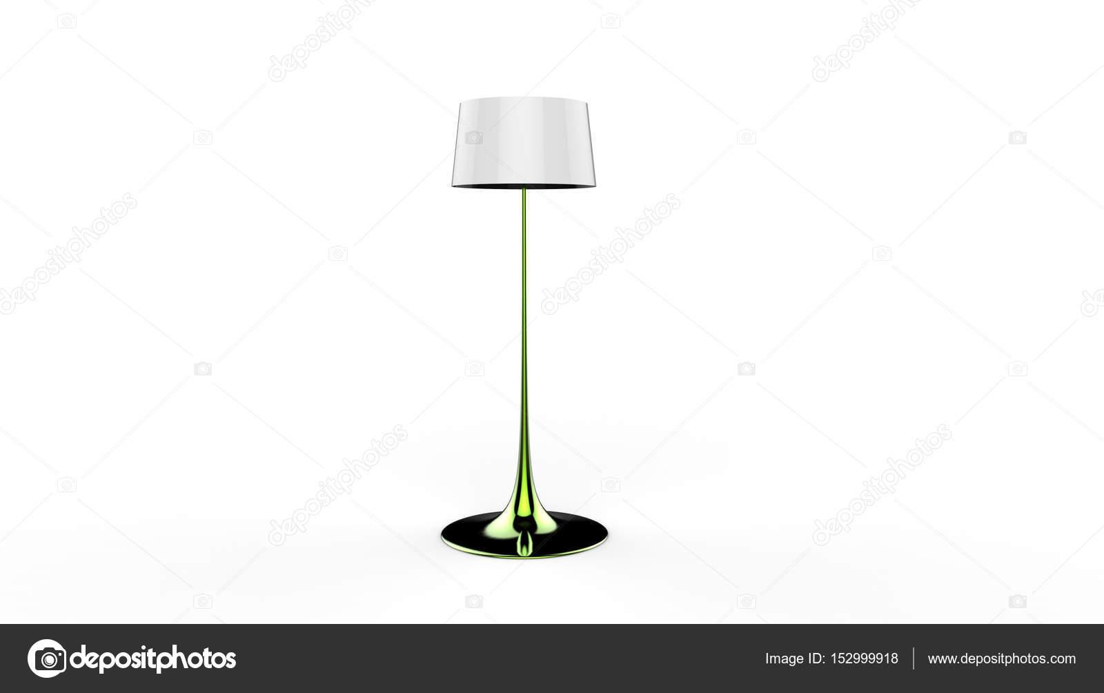 D illustratie van een lamp u stockfoto dandesign