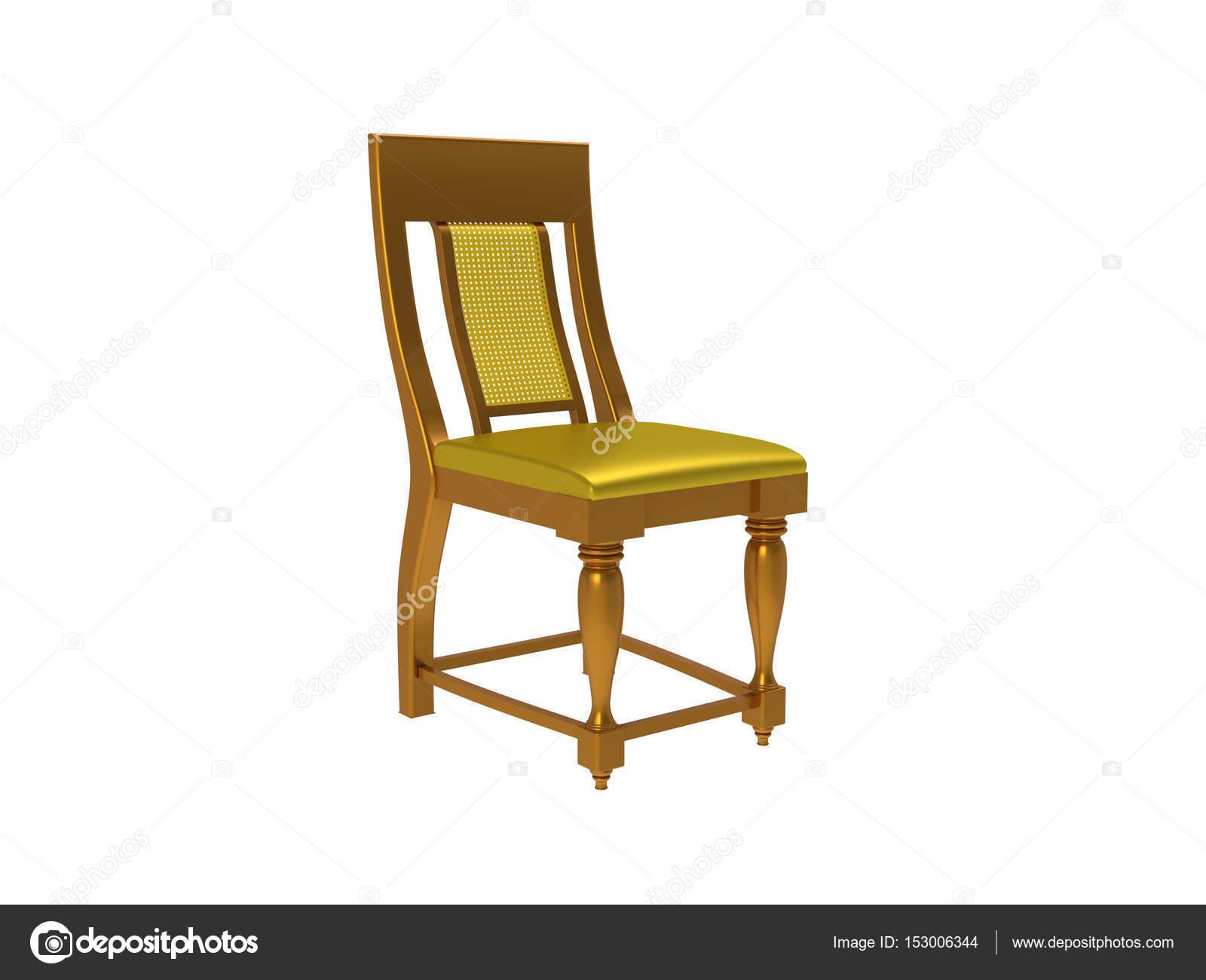 Chaise De Style Colonial Classique Isol Sur Fond Blanc Image Dandesign86