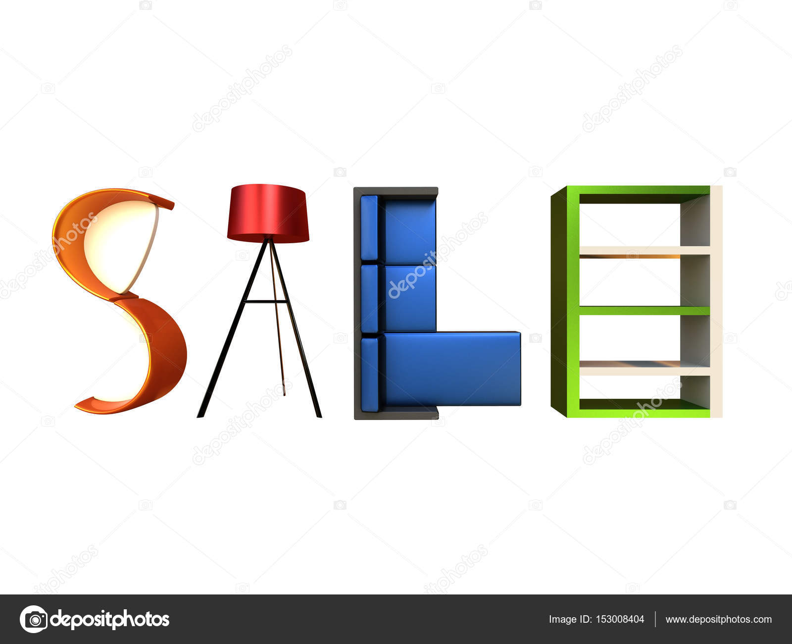 Furniture Sale Advertisement Stock Photo dandesign86 153008404