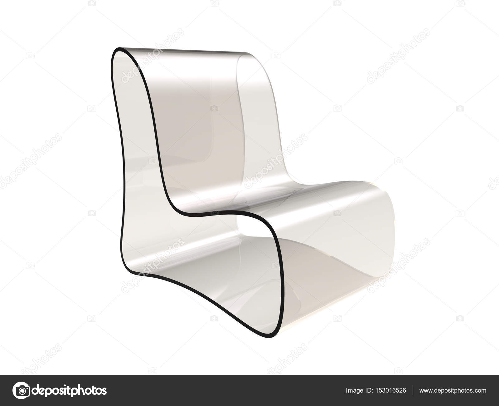 Sedie Di Plastica Trasparenti : Sedia moderna design u foto stock dandesign