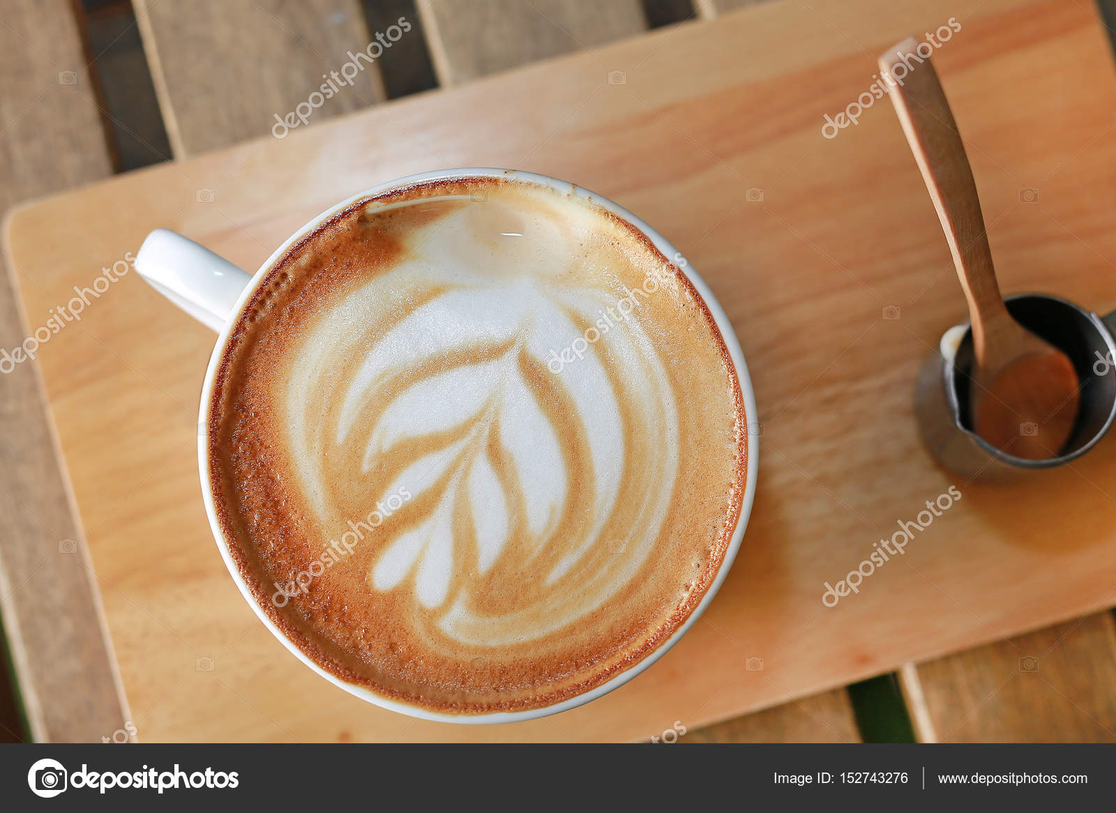 кофе с рисунком фото