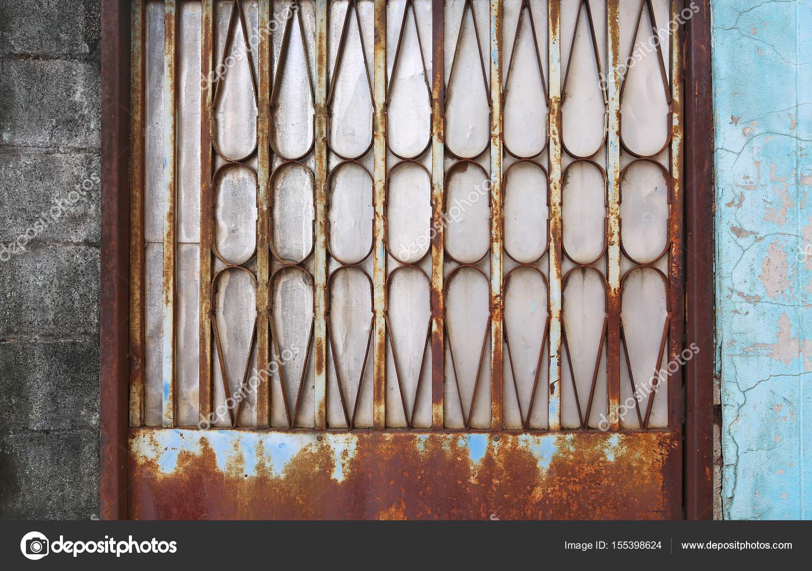 Alten Alten Rostigen Metall Tur Zaun Stockfoto C Civic Dm Hotmail