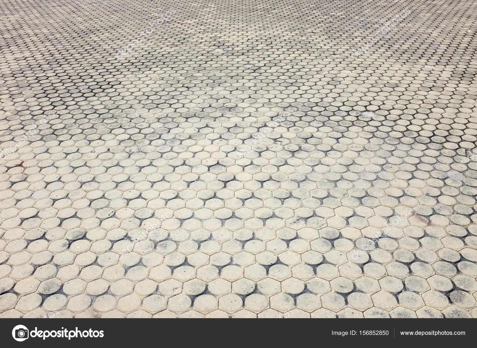 Patterned pavimentazione piastrelle pavimento di cemento mattoni