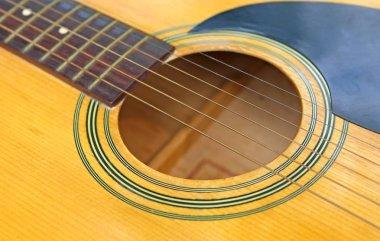 Close up Classical guitar