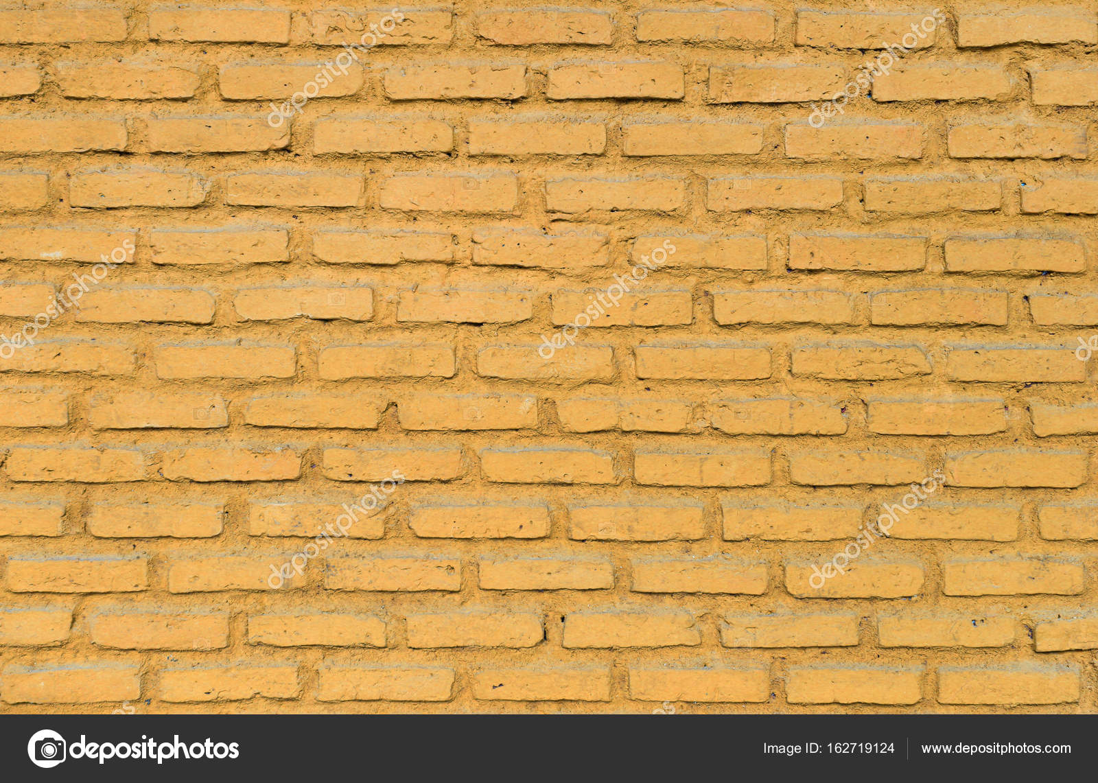 colorful yellow brick wall background — Stock Photo © civic_dm ...