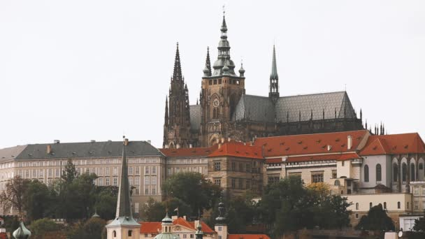 Praha, Česká republika. Pražský hrad a katedrála Víta, Václava a Vojtěcha. Světového dědictví UNESCO