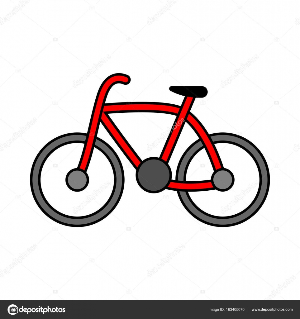vector bicycle outline icon modern minimal flat design style rh depositphotos com bike t shirt vector vector bike price